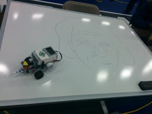 Lego_EV3_Drawing_Albert_Einstein