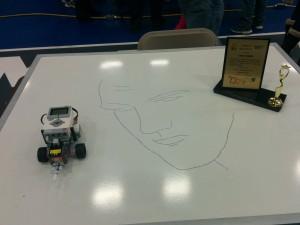 Lego_EV3_drwaing_Elvis_Presley