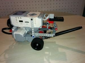 LegoEv3DraingRobotWithBrush