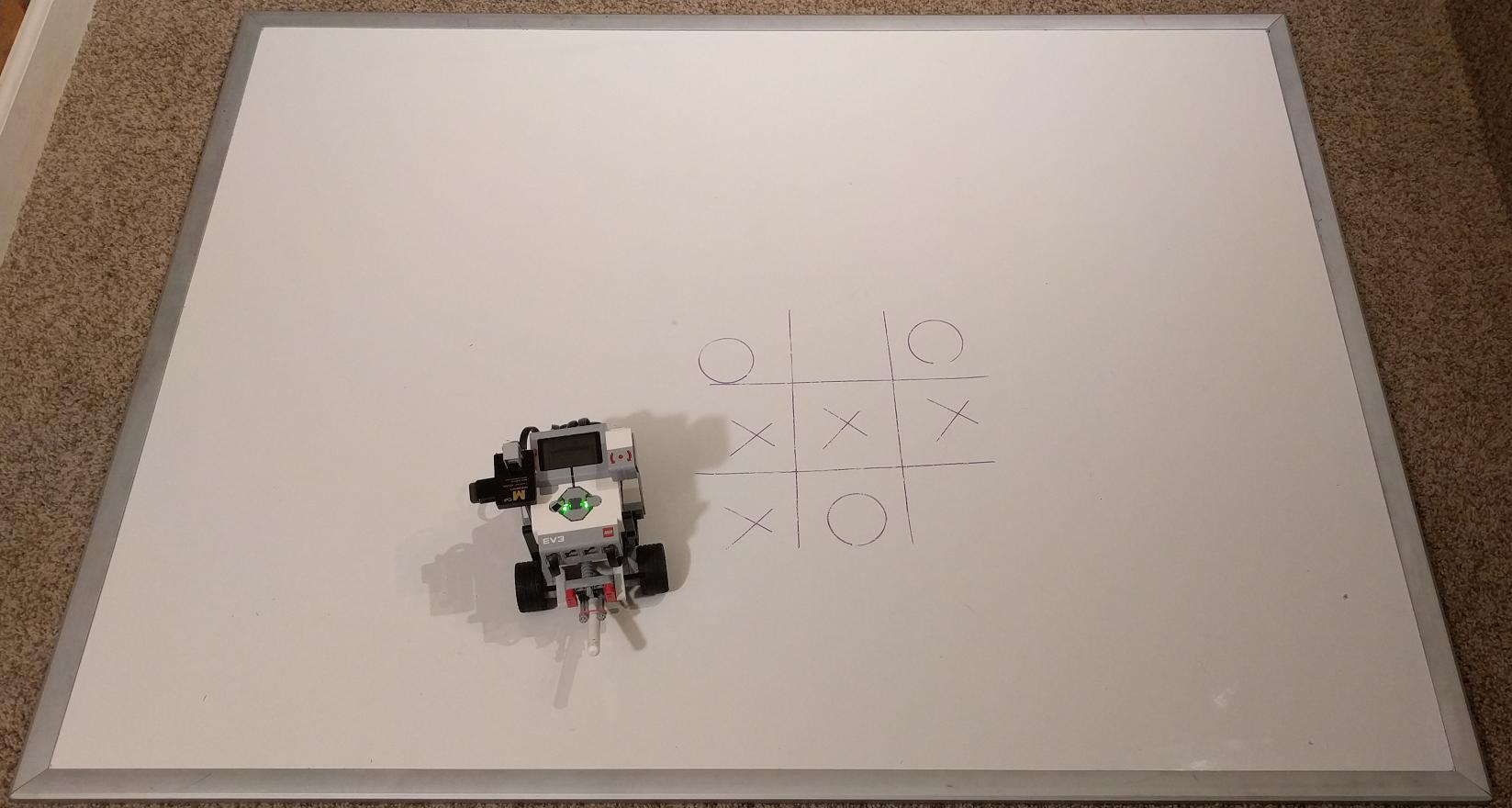 lego mindstorms tic tac toe building instructions